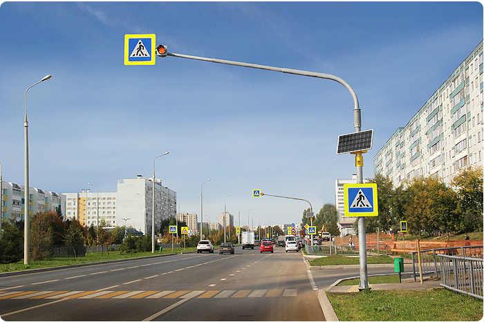 В Кимрах установят светофоры на нерегулируемых пешеходных переходах